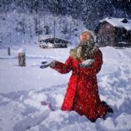 下雪啦……